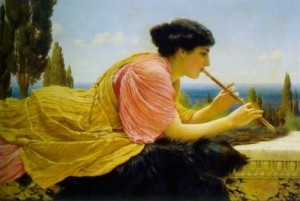 John William Godward obra de 1909 8