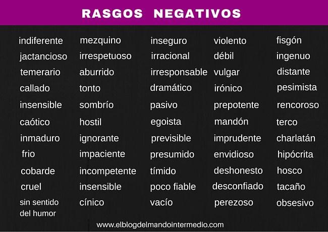 RASGOS-NEGATIVOS
